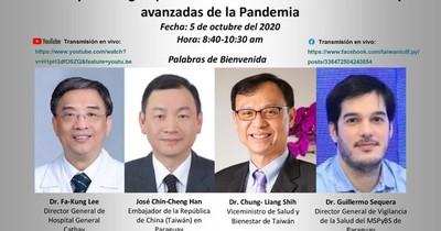 La Nación / Paraguay y Taiwán debaten sobre combate al covid-19