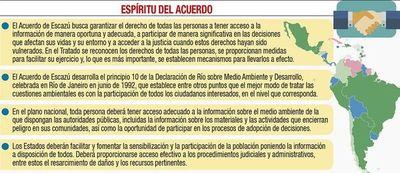 Gremios felicitan rechazo del MAG al acuerdo Escazú