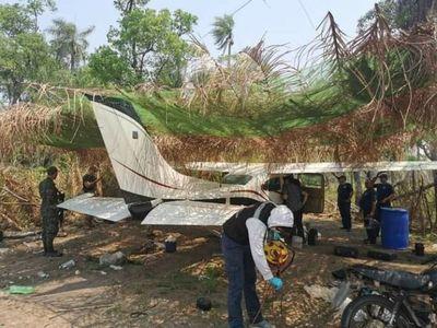 San Carlos del Apa: Incautan 2 aeronaves en pistas clandestinas