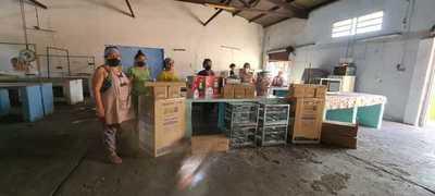 """Destacan donación de Quiñónez a trabajadoras del Mercado N° 9: """"Repusieron todo de nuevo y más de la cuenta"""""""
