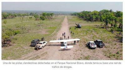 Narcoavioneta elude a dos naves paraguayas en persecución aérea