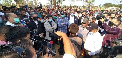 Autoridades se reúnen con nativos en Caaguazú