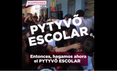 """Plantean """"Pytyvõ Escolar"""" para familias de escolarizados"""