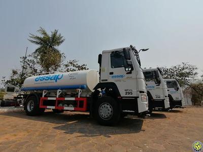 Essap adquiere cinco camiones cisternas para abastecer con agua a afectados por incendios •