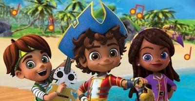 """HOY / Nickelodeon estrena """"Santiago de los Mares"""", una nueva serie bilingue"""