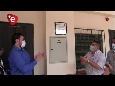 MUNICIPIO INAUGURA HISTORICA OBRA EN EL COLEGIO FULGENCIO YEGROS DE ENCARNACIÓN