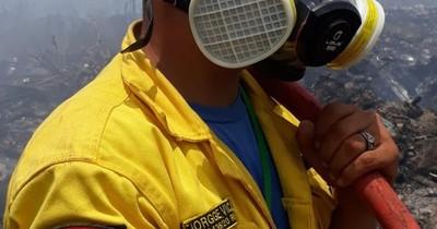 La Nación / Ejemplo de superación: superó 2 graves accidentes y hoy es bombero voluntario
