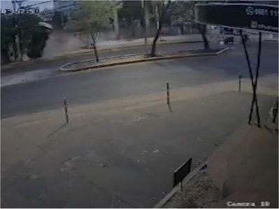 Así fue el accidente en el cual murió joven madre en Fernando de la Mora