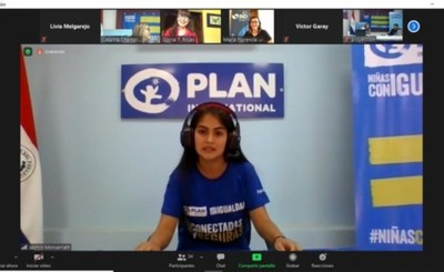 Niña es Representante del Grupo BID en Paraguay por un día