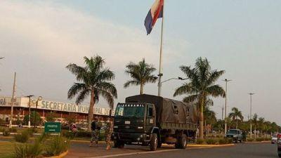 Militares de nuevo cierran frontera Pedro Juan