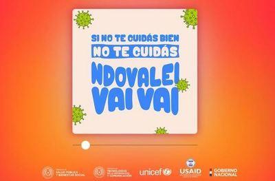 Lanzan campaña para involucrar a jóvenes en la prevención del COVID19