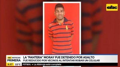 """Detienen a """"La Pantera"""" Moray tras intento de robo en Asunción"""