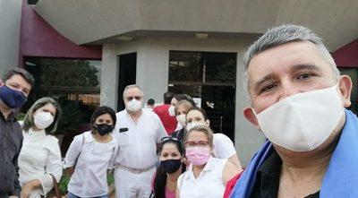 Odontólogos de Tesãi protestan ante capricho de coordinadora apadrinada que no les deja trabajar – Diario TNPRESS