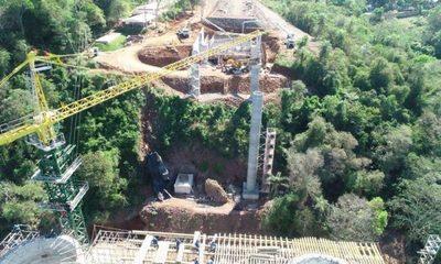 Puente de la Integración Franco – Foz registra avance de 40% en construcción – Diario TNPRESS