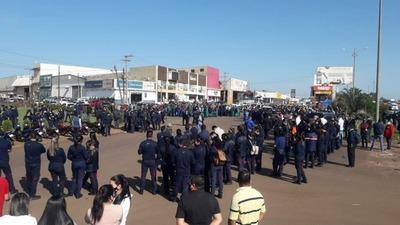 ¡Imposible! Amambay no puede contener a la gente que ingresa al país o va hacia Brasil