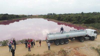 MADES solicitó al Gobierno financiamiento para trabajos de recuperación de la Laguna Cerro