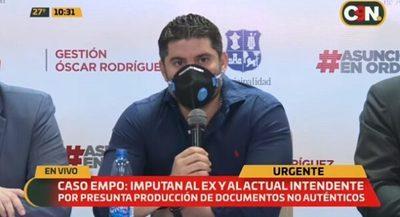 Intendente de Asunción asegura que imputación tiene un tinte político