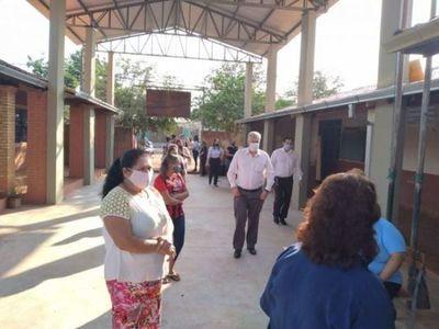 Más tres instituciones recibieron kits del almuerzo escolar en Pedro Juan Caballero