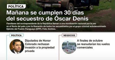 La Nación / LN PM: Las noticias más relevantes de la siesta del 7 de octubre
