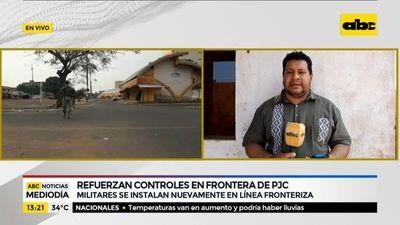 Refuerzan controles en frontera de Pedro Juan Caballero