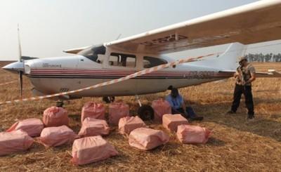 Persecución aérea termina con incautación de narcoavioneta en Yguazú