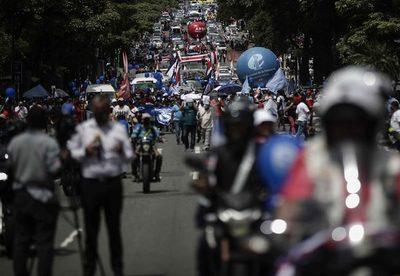 Dirigentes anuncian «flexibilización» de las protestas en Costa Rica