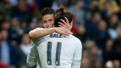 Bale y James: los peores fantasmas del equipo merengue