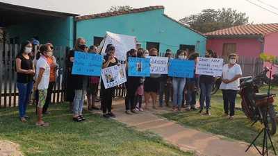 Exigen justicia por el asesinato de un hombre en Vallemí