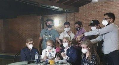 Familia Denis exige liberación de secuestrados y convoca a manifestación pacífica