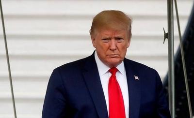 HOY / Trump dice que el COVID fue una bendición para él