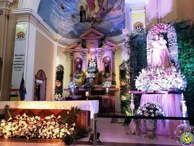 Misa y procesión en Luque por el Día de la Virgen •