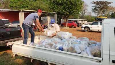 Municipalidad de Belén entrega kits de víveres