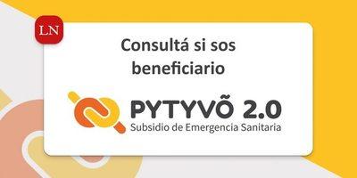 Hoy inicia nuevo pago de Pytyvô 2.0