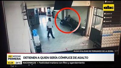 Detienen a supuesto cómplice de un asalto en Fernando de la Mora