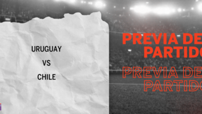Por la Fecha 1 se enfrentarán Uruguay y Chile