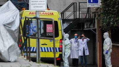 España, el tercer país de Europa con más muertes por COVID-19, según la JHU