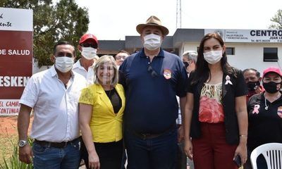 Habilitan mejoras que tornan moderno al Centro de Salud de Juan León Mallorquín – Diario TNPRESS