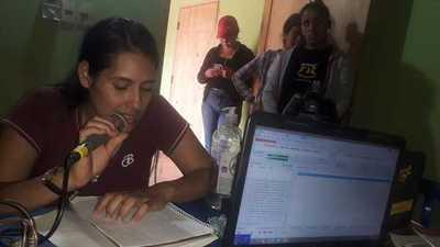Paso Horqueta: Jóvenes realizan colecta solidaria para los Bomberos Voluntarios