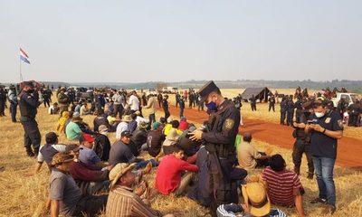 Diez campesinos detenidos tras un procedimiento de desalojo en Toryvete – Diario TNPRESS