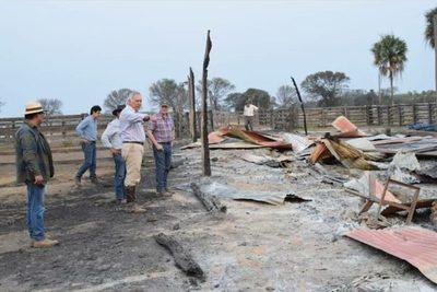 ARP estima en unas 300 mil hectáreas el área agropecuaria afectada por los incendios