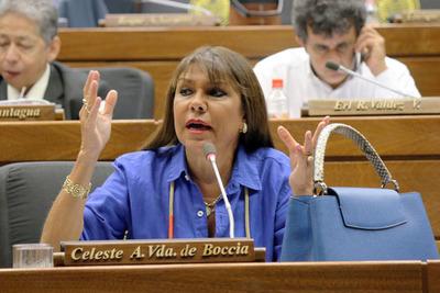 """Celeste Amarilla sostiene que """"Bachi"""" Núñez la ataca para posicionarse en Honor Colorado y opacar a Alliana"""