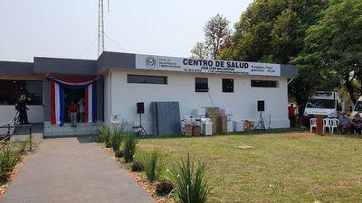 Habilitan mejoras en Centro de Salud de Mallorquín