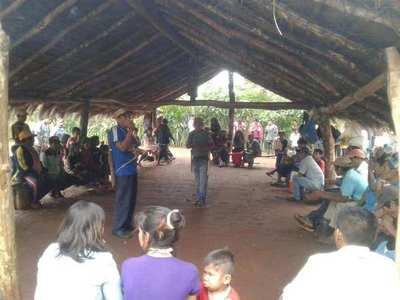 Indígenas preparan encuentro para exigir derechos.