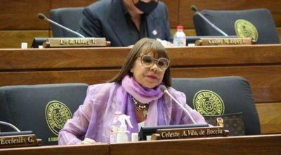 PLRA solicita a la Cámara de Diputados revocar sanción a Celeste Amarilla