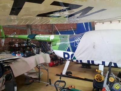 Hallan 1 helicóptero y 8 avionetas argentinas en Areguá •