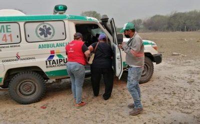 Salud atiende pobladores chaqueños afectados por incendios