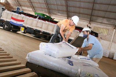INBIO realizó su primera exportación de semillas Sojapar R24 al mercado boliviano