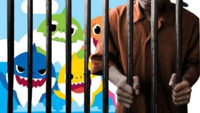 """Guardias de cárcel acusados de obligar a escuchar la canción """"Baby Shark"""" a los reclusos"""