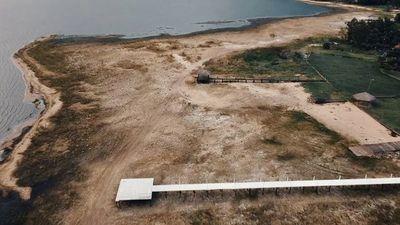 Essap realiza excavaciones en el Lago Ypacaraí sin autorización del Mades
