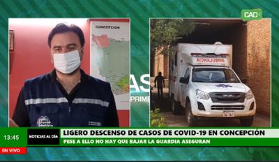 Concepción: Leve descenso del número de positivos por COVID-19